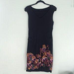 Little Black dress with floral detail!